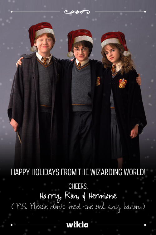 User blog:Asnow89/Merry Christmas from our Favorite Fictional ...
