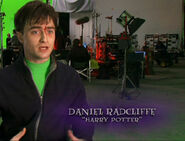 Daniel Radcliffe at the set of Deathly Hallows part 2