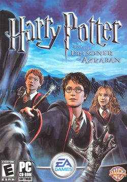Prisoner of Azkaban game cover PC