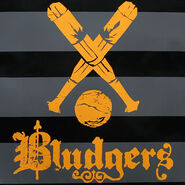 Bludgers logo (design for Black Messenger Bag)