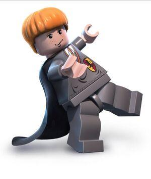 Ronald como um boneco LEGO