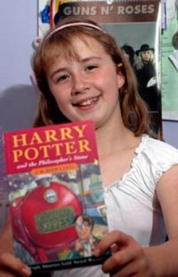 Katie Head (Youngster in the Orphanage in HP6)