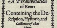 A Perambulation of Kent