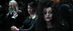 DH1 Lucius Malfoy, Narcissa Malfoy and Bellatrix Lestrange