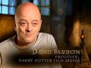 David Barron (Producer, Harry Potter films) - HP6 screenshot