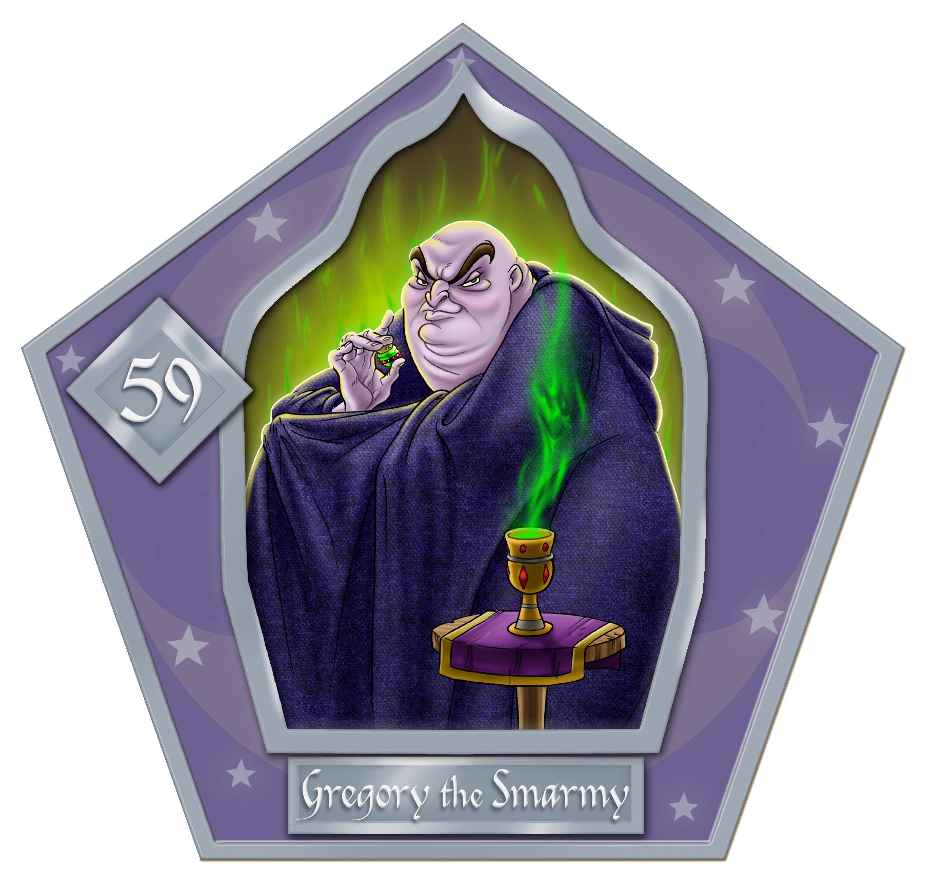 Gregory The Swarmy-59-chocFrogCard