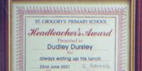 Headteacher's Award