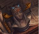 Bust of Rowena Ravenclaw