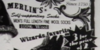 Merlin's Self-supporting Socks
