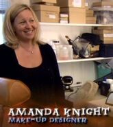 Amanda Knight (Make-Up Designer for Harry Potter films 1 - 8