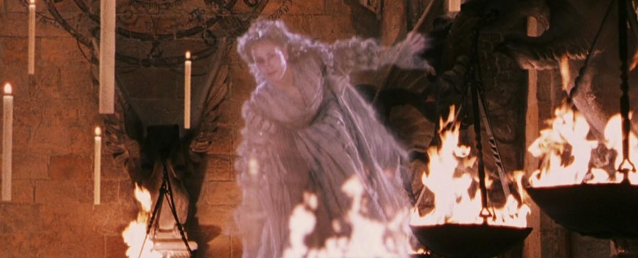 Image - Start of term feast grey lady.jpg   Harry Potter ...