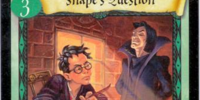 Snape's Question (Trading Card)