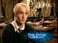 Tom Felton (Draco Malfoy) HP4 screenshot