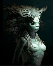 Mermaid by adam brockbank