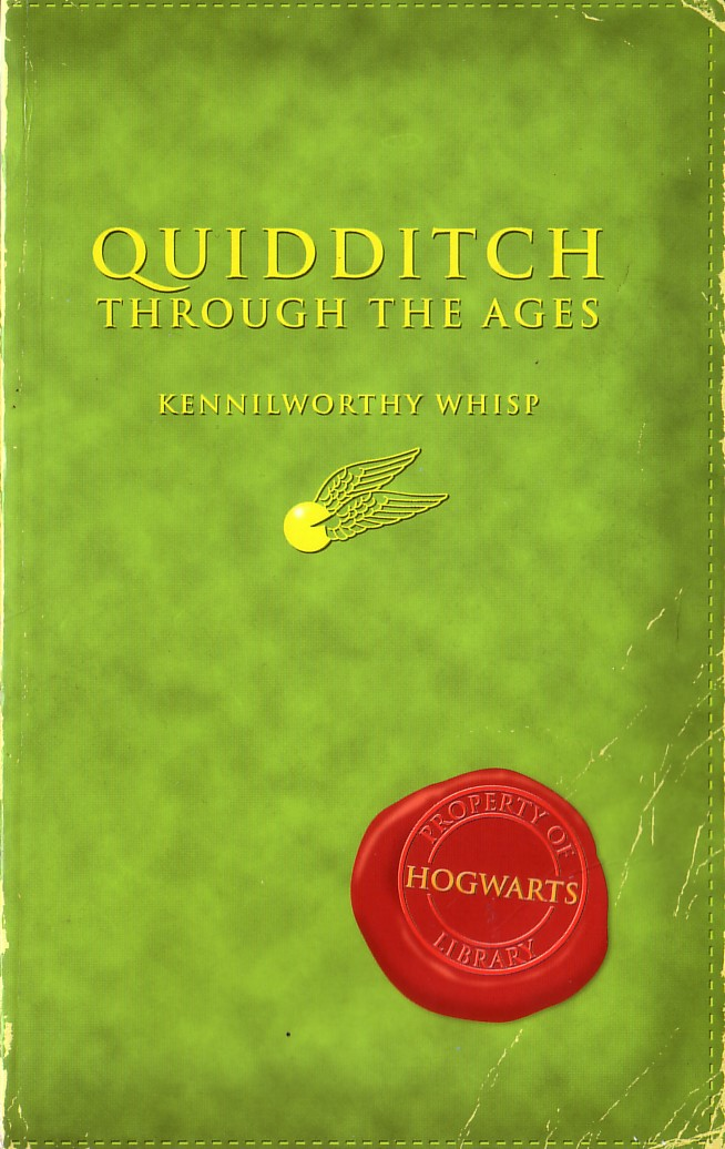 Image result for quidditch through the ages original cover