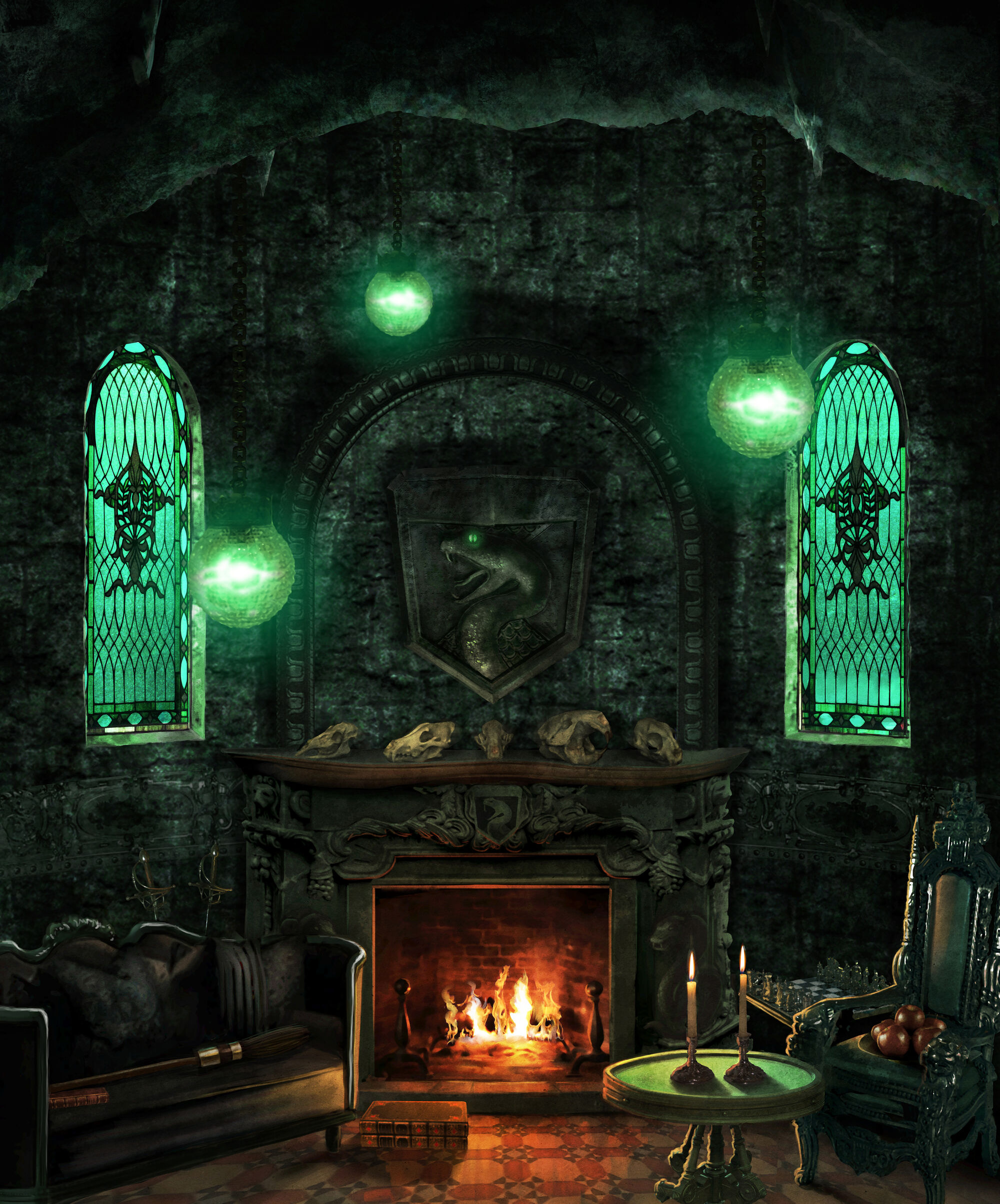 slytherin dungeon harry potter wiki fandom powered by wikia