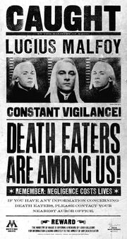 Lucius Malfoy Caught poster