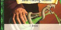 Slow-Acting Venom (Trading Card)