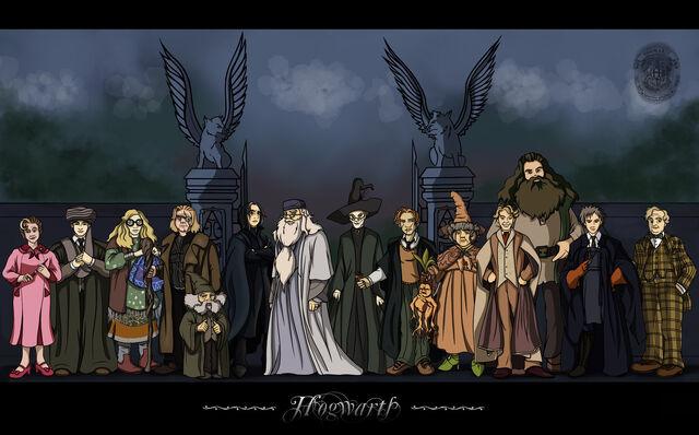 File:Hogwarts Professors by Belegilgalad.jpg