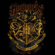 Hogwarts Crest (design for t-shirt)