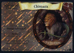 Chimaera (Harry Potter Trading Card - Foil)