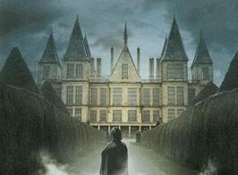 Severus Snape at Malfoy Manor (concept artwork for Deathly Hallows movie)