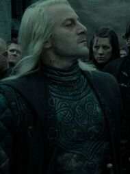 Lucius with tattooed prisoner number