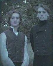 Dumbledore and grindlewald