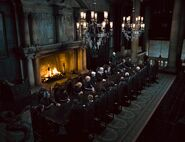 Congregation of Death Eaters (Malfoy Manor)