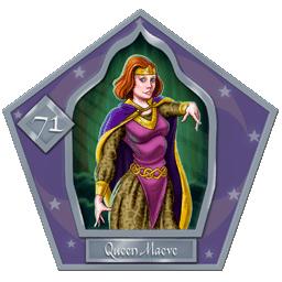Queen Maeve-71-chocFrogCard