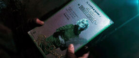 DH1 The Life and Lies of Albus Dumbledore book cover
