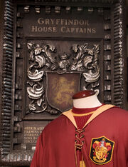 Gryffindor Captains Plaque