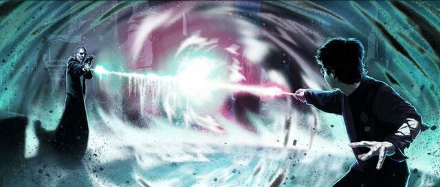 Fil:Voldemort-Harry 1st duel (Concept Artwork for the HP4 film).jpg