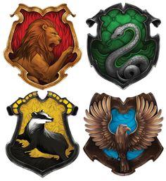 Resultado de imagen de hogwarts houses