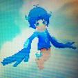 Mini blue