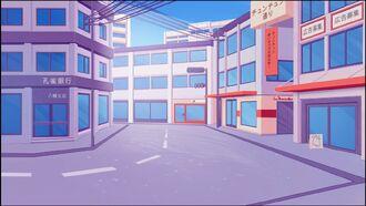 HB Background Town (Remake)