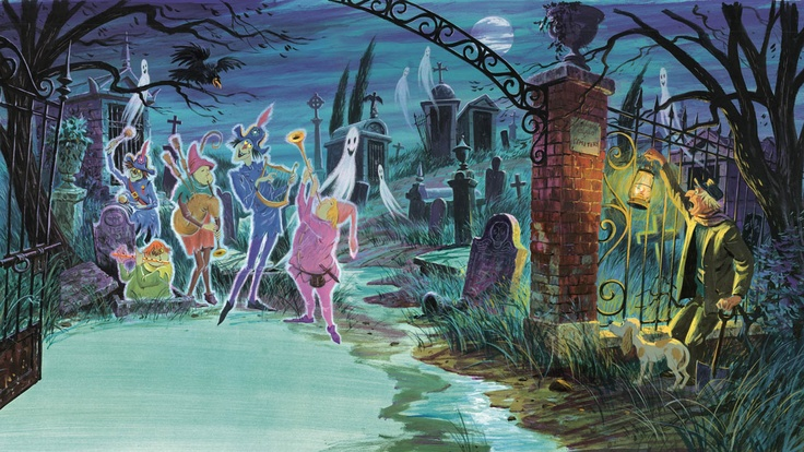 Graveyard Haunted Mansion Wiki Fandom Powered By Wikia