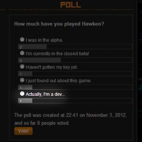 Dev Wiki Poll