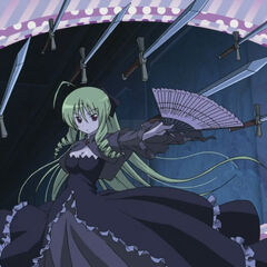 Athena's cameo appearance in the Opening of <i>Hayate no Gotoku Heaven is a Place on Earth</i>