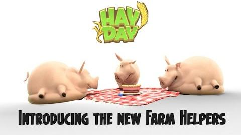 Hay Day Introducing the New Farm Helpers