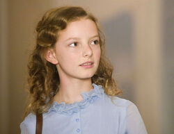Lyra Belacqua portrayed by Dakota Blue Richards