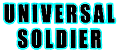 Universal Soldier logo