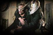 Jason attacks Clay