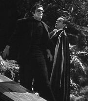 Dracula and the Frankenstein Monster