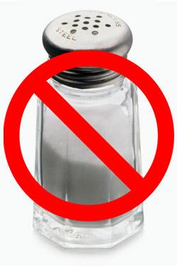 Image result for no salt