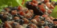 Stuffed Mushrooms with Tomatoes and Olives