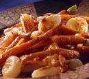 Roasted Carrots and Cipollini Onions