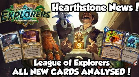 Hearthstone The League of Explorers - All New Cards Analysis!