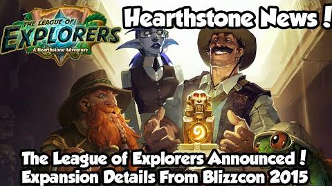 Hearthstone The League of Explorers Adventure Announce - All Details!