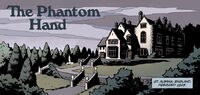 The Phantom Hand title panel